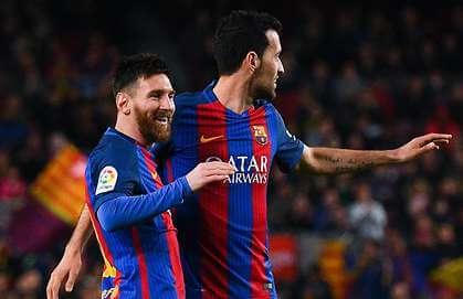 Lionel Messi - Sergio Busquets