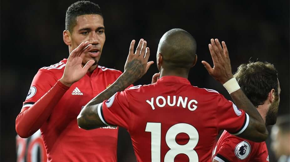 Chris Smalling - Ashley Young