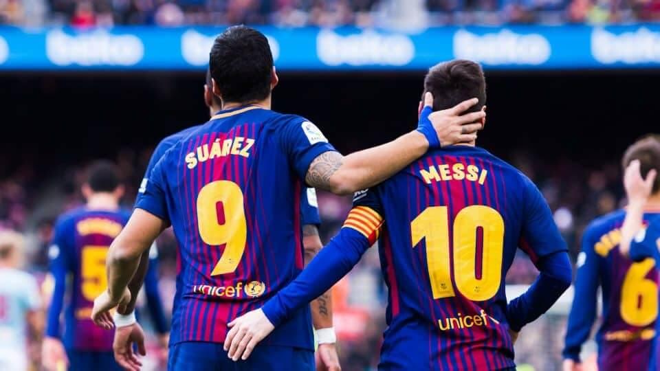 Luis Suarez - Lionel Messi