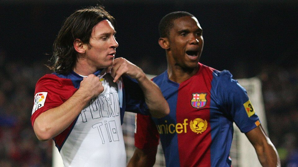 Lionel Messi - Samuel Eto'o