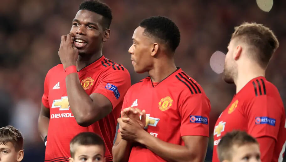 Paul Pogba-Anthony Martial