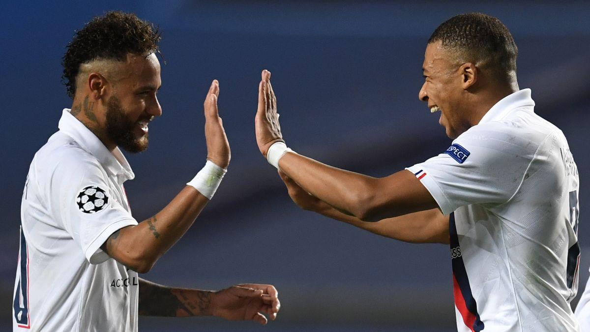 Neymar - Mbappe