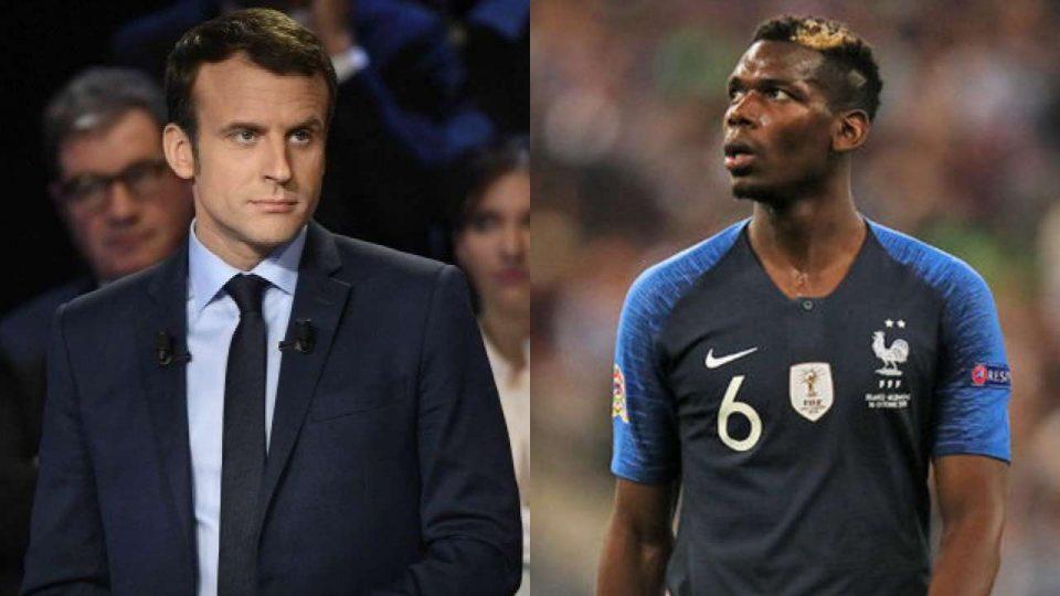 Paul Pogba - Emmanuel Macron