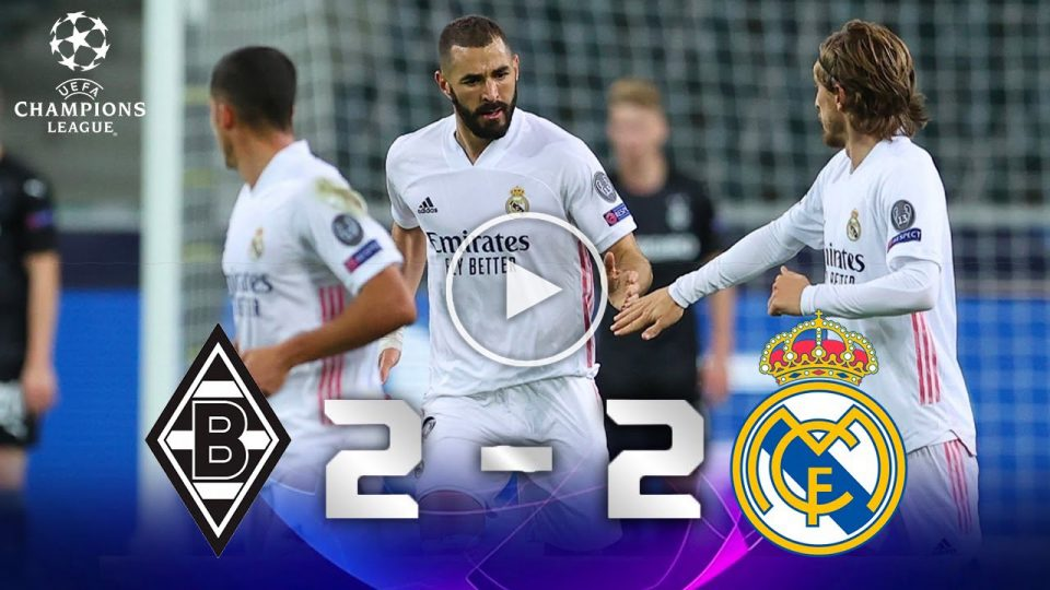 Borussia Mönchengladbach VS Real Madrid