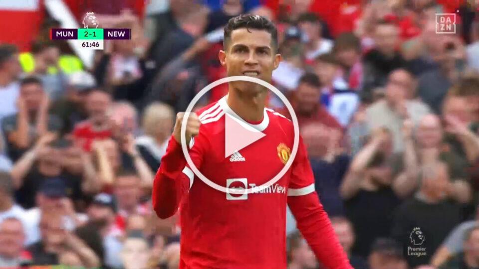 Watch: Cristiano Ronaldo VS Newcastle United
